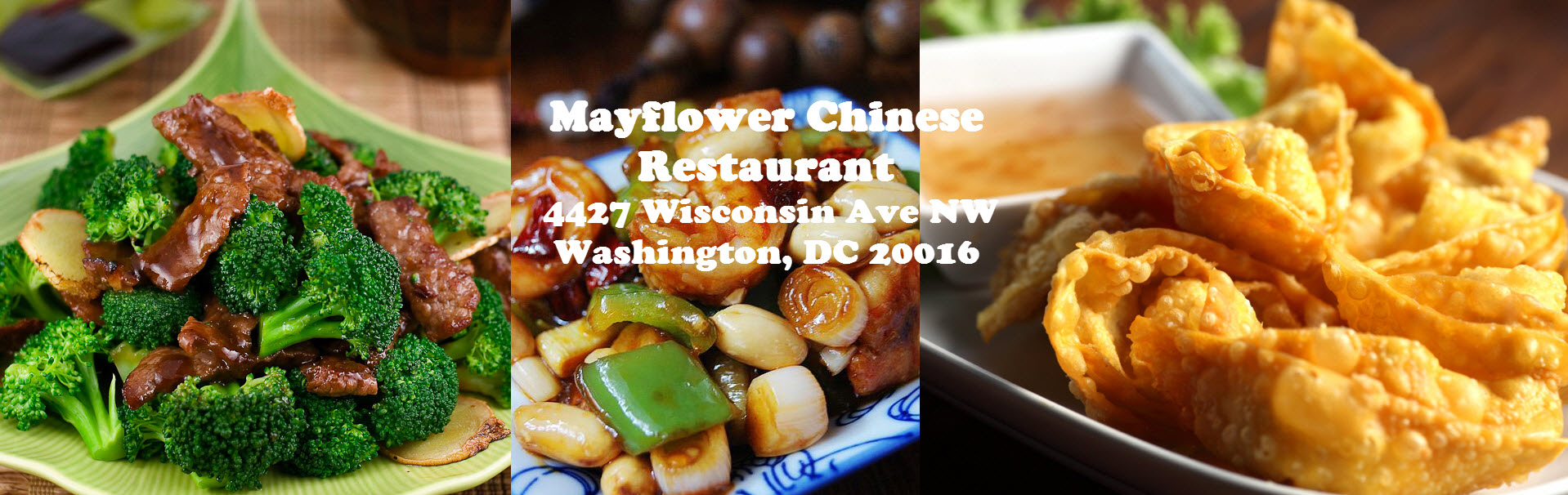 Your favorite Chinese food at Mayflower Chinese